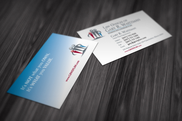 Attorney Law Firm Business Cards