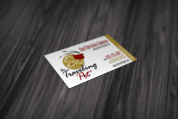 Personal Chef Business Card Design